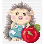 Diamond painting kit - Delightful hedgehog