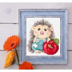 Diamond painting kit - Delightful hedgehog