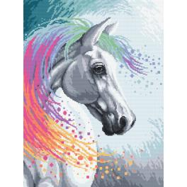 Diamond painting kit - Enchanted horse