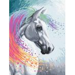 Diamond painting kit - Enchanted horse