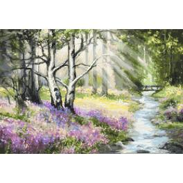Diamond painting kit - Spring forest