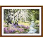 Diamond painting kit - Spring forest