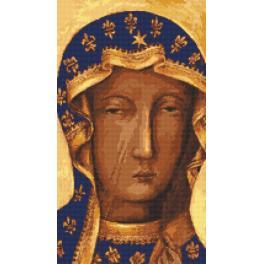 W 10121 ONLINE pattern pdf - The Holy Virgin of Czestochowa