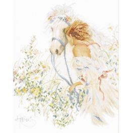 LPN-0007952 Cross stitch kit - Horse