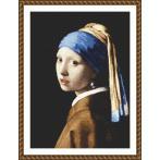ONLINE pattern - Girl with a pearl earing - J. Vermeer