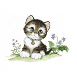 Diamond painting kit - Little kitten