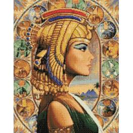 Diamond painting kit - Queen of Egypt