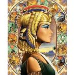 WD139 Diamond painting kit - Queen of Egypt
