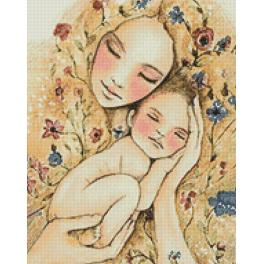 Diamond painting kit - Mother's warmth