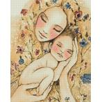 WD2317 Diamond painting kit - Mother's warmth