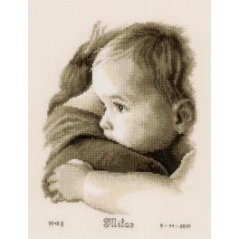 Cross stitch kit - Baby hug