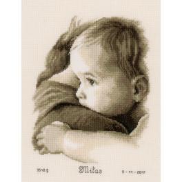 VPN-0158510 Cross stitch kit - Baby hug