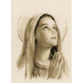 Cross stitch kit - Holy Mary