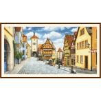 Graphic pattern - Picturesque Rothenburg