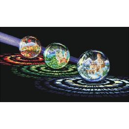 Cross stitch kit - Spheres of wishes
