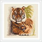 Tapestry canvas - Tigers