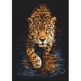 Diamond painting kit - Panther