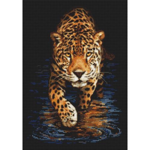 Diamond painting kit - Panther