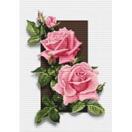Diamond painting kit - Roses 3D