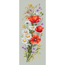 ZN 10215 Kit with tapestry and mouline - Field bunch