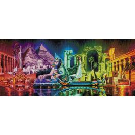 Diamond painting kit - Colours of Egypt