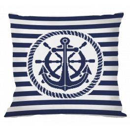 ONLINE pattern - Pillow - Anchor
