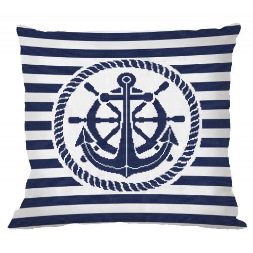 ONLINE pattern - Pillow - Anchor