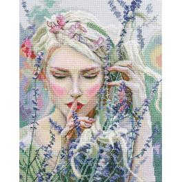 Cross stitch kit - Listening to the silence