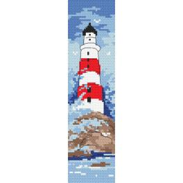 Cross stitch kit - Bookmark - Memory from the holidays