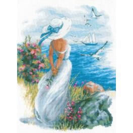 Cross stitch kit - Angelique