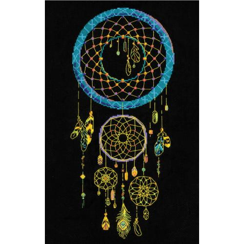RIO 1803 Kit with yarn - Dream catcher