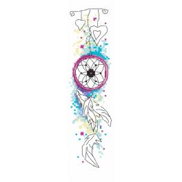GU 10188 Cross stitch pattern - Bookmark - Dream catcher