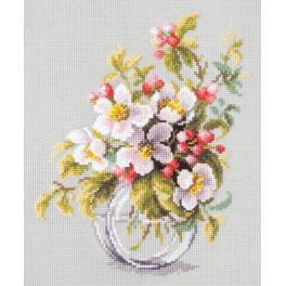 Cross stitch kit - Blooming apple tree