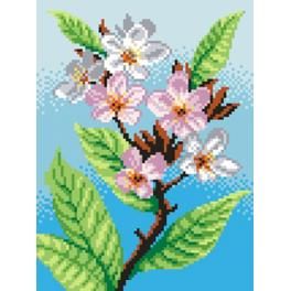 Tapestry canvas - Cherry-tree
