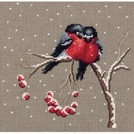 PA 8-297 Cross stitch set - Winter warmth