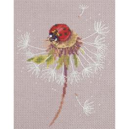 PAPS 7034 Cross stitch set - Ladybird