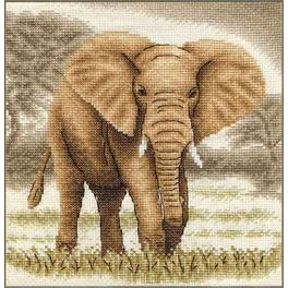 Cross stitch set - Giant elephant