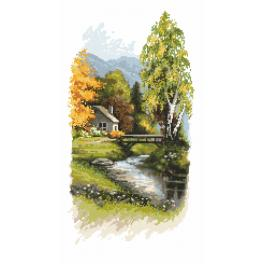 K 10193 Tapestry canvas - Heralds of autumn