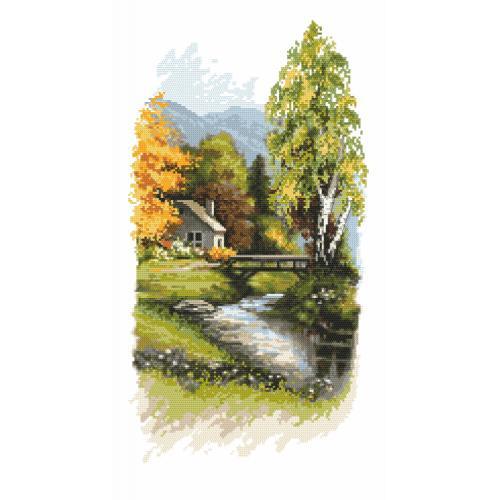 Cross stitch kit - Heralds of autumn