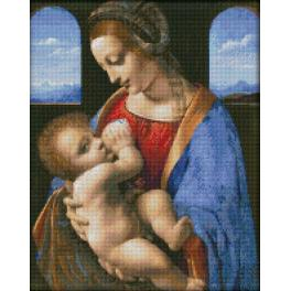 Diamond painting kit - Madonna Litta
