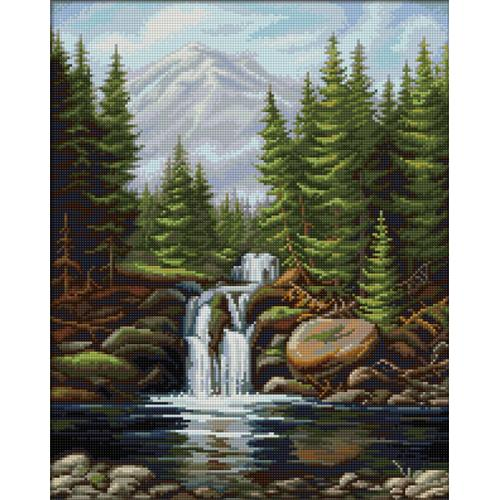 Diamond painting kit - Waterfall