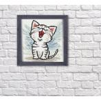 Diamond painting kit - Kitten meow