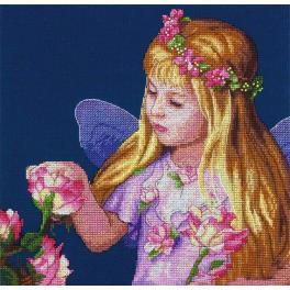 DIM 70-35297 Cross stitch kit - Rose fairy