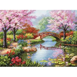Cross stitch kit - Japan garden