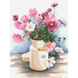 Cross stitch kit - Country bouquet