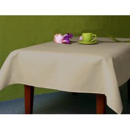 972-05 Tablecloth Aida 110x160 cm (1,2x1,7 yd) cappuccino