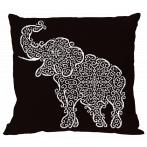 Cross stitch pattern - Pillow - Lace elephant