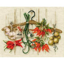 RIO 1794 Kit with yarn - Spicy condiments
