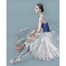 RIO 100/054 Cross stitch kit - Ballet dancer
