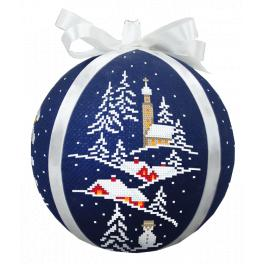 GU 8988 Pattern online - Christmas ball with a view